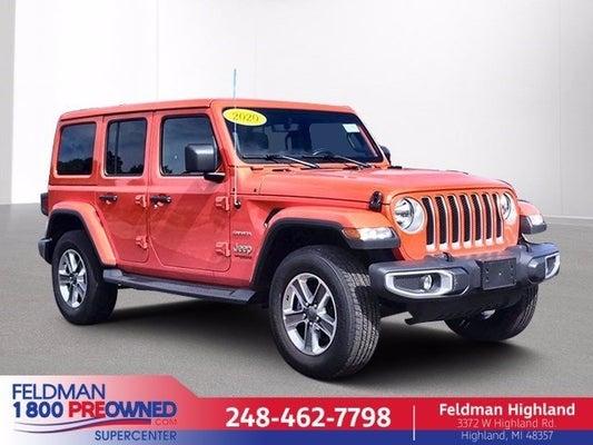 2020 Jeep Wrangler Unlimited Sahara In Highland Mi Detroit Jeep Wrangler Unlimited Feldman Chevrolet Of Highland